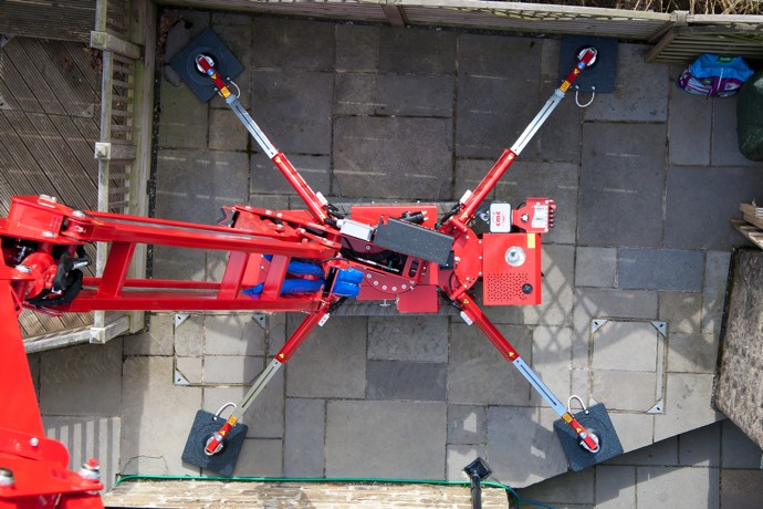 CMC S15 spiderlift low surface load