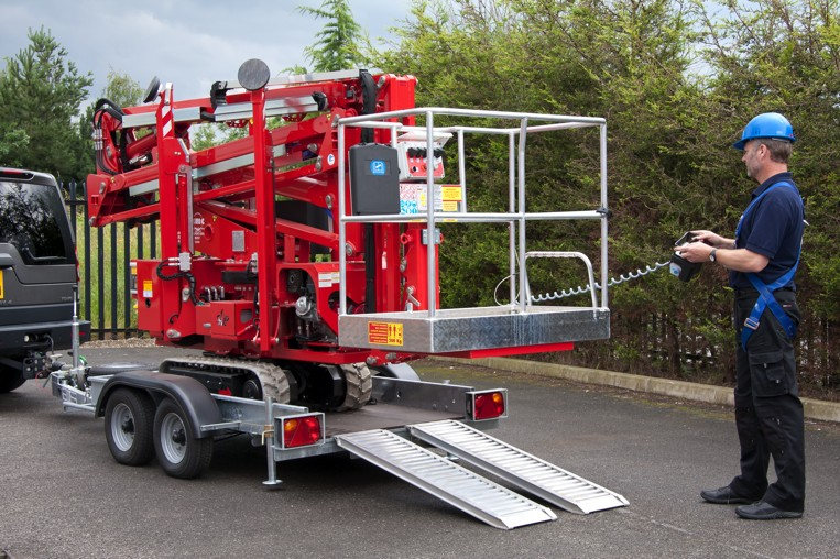 CMC S15 spiderlift transportable