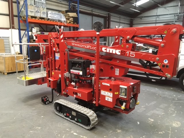 CMC15 Spiderlift Hire UK