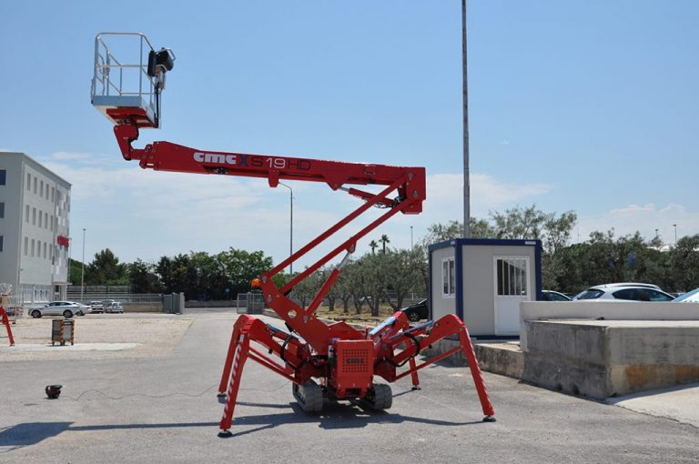 CMC S19HD Spiderlift Hire