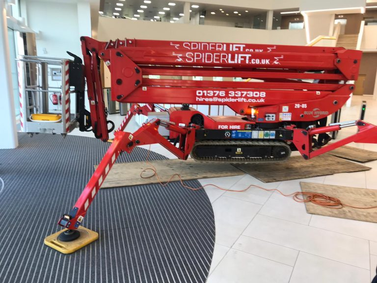 Bluelift SA26 SPiderlift