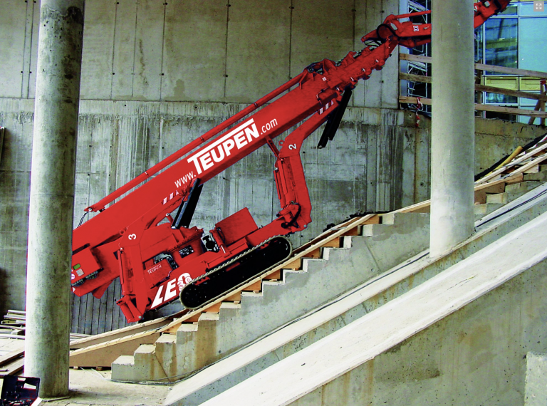 Teupen Spiderlift Leo 30T Datasheet & Manufacturer Data