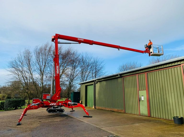 Teupen Leo 21GT Spider Lift Hire Nationwide